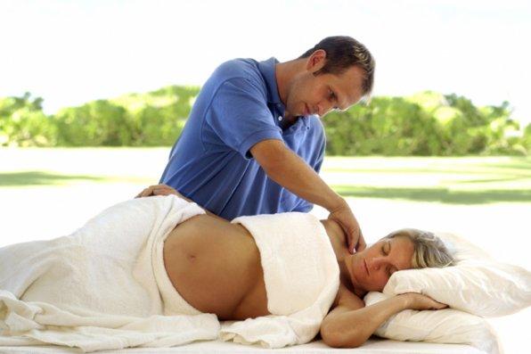 Массаж в домашних условия для зачатия